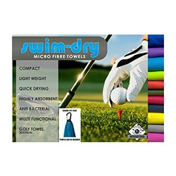 Swim Dry Golf Towel