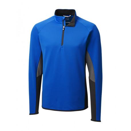 Cutter & Buck Traverse Colourblock Halfzip Sweater